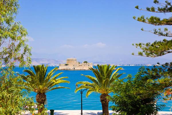 bourtzi castle, nafplion island