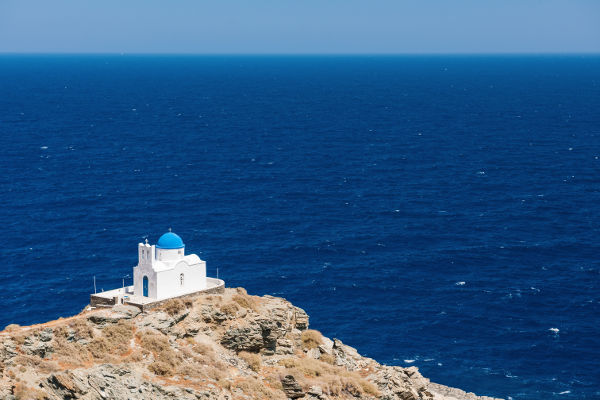 chapel of 7 martyrs, sifnos island