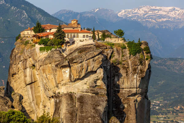 the monastery of holy trinity meteora